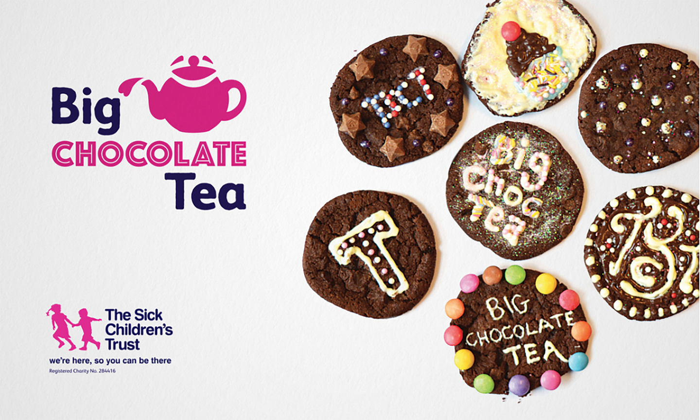 The Sick Children's Trust - Big Chocolate Tea Branding