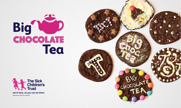 The Sick Children's Trust - Big Chocolate Tea Branding