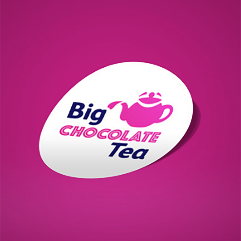 The Sick Children's Trust - Big Chocolate Tea Sticker