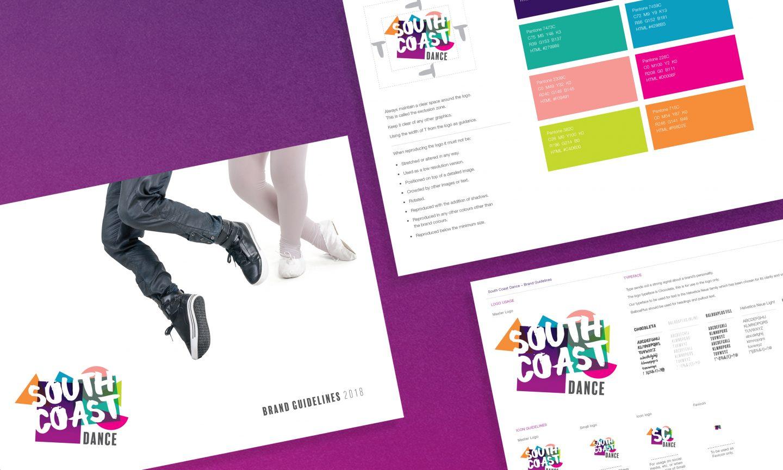 South Coast Dance Brand Design