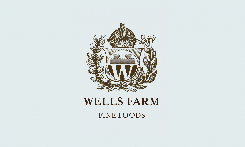 Wells Farm Fine Foods Logo design