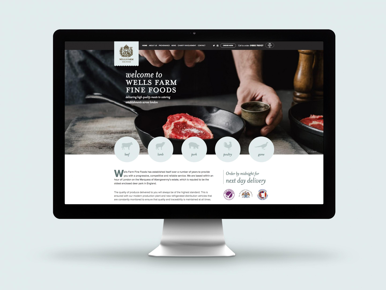 Wells Farm Fine Foods Website Home