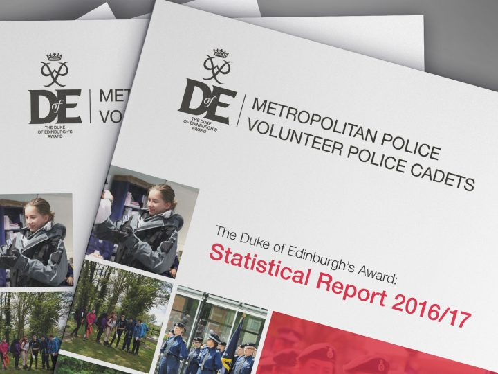 The Duke of Edinburgh's Award report design