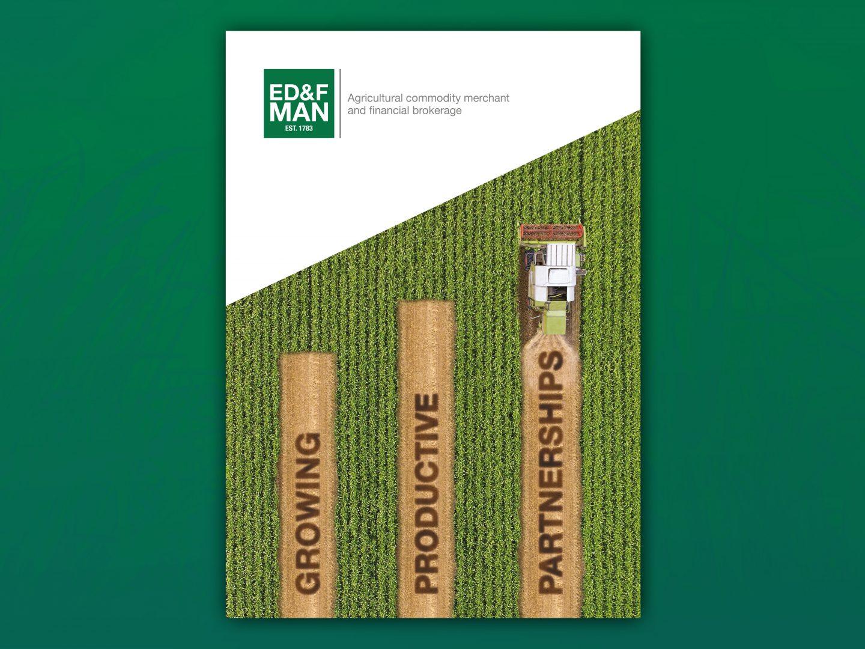 ED&F Man brochure cover design
