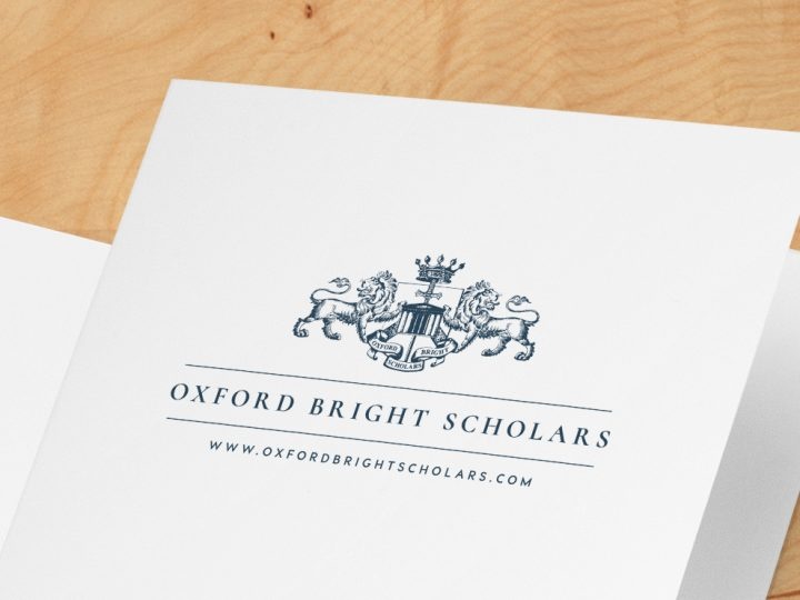 Oxford Bright Scholars logo design