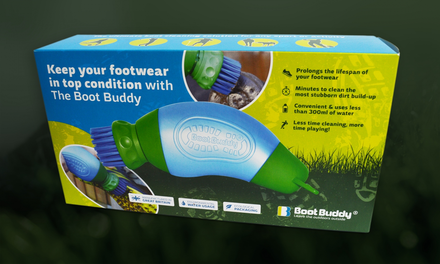Boot Buddy Packaging Design