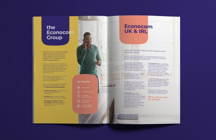 Econocom Brochure - spread 2