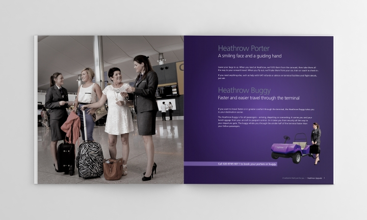 Heathrow brochure - spread 1