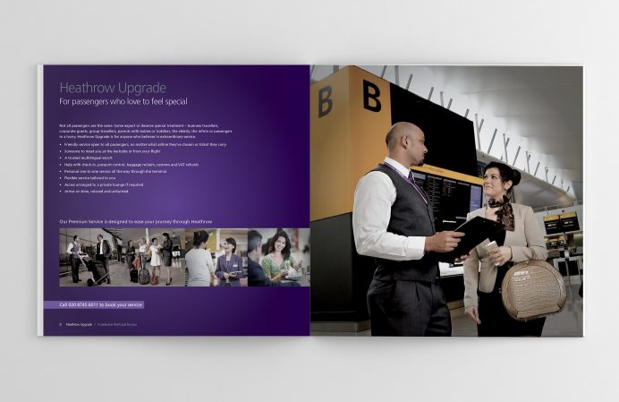 Heathrow brochure - spread 2