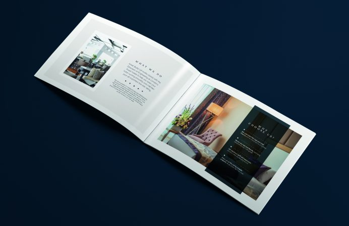 Artek brochure design - cover
