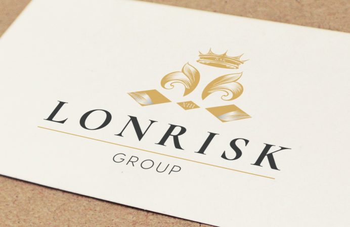 Logo design studio London - Lonrisk logo