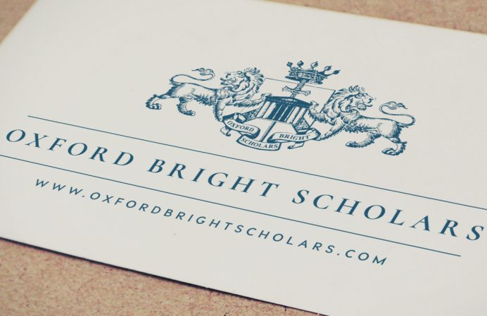 Logo design London - Oxford Bright Scholars logo