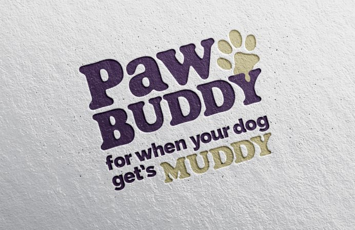 Logo design London - Paw Buddy logo