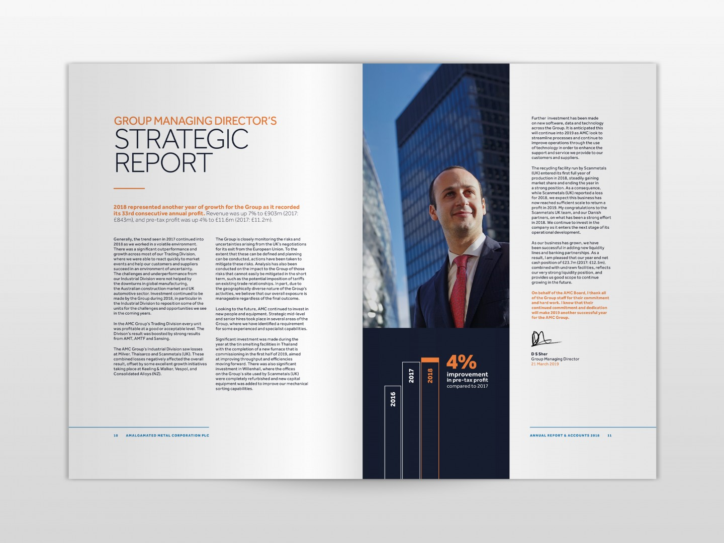 AMC 2019 Annual Report Director's Strategic Report