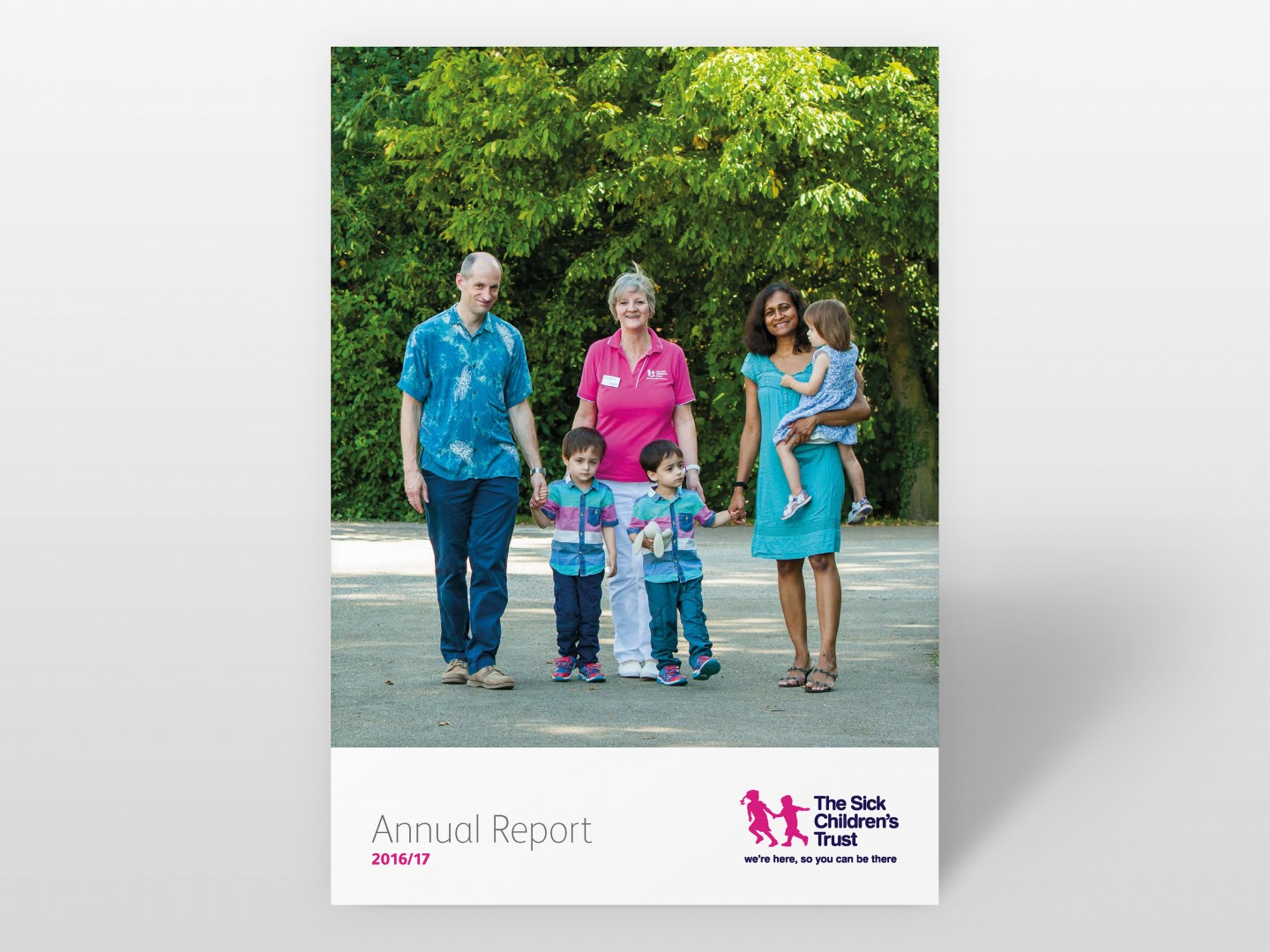 The Sick Children's Trust Annual Report Cover