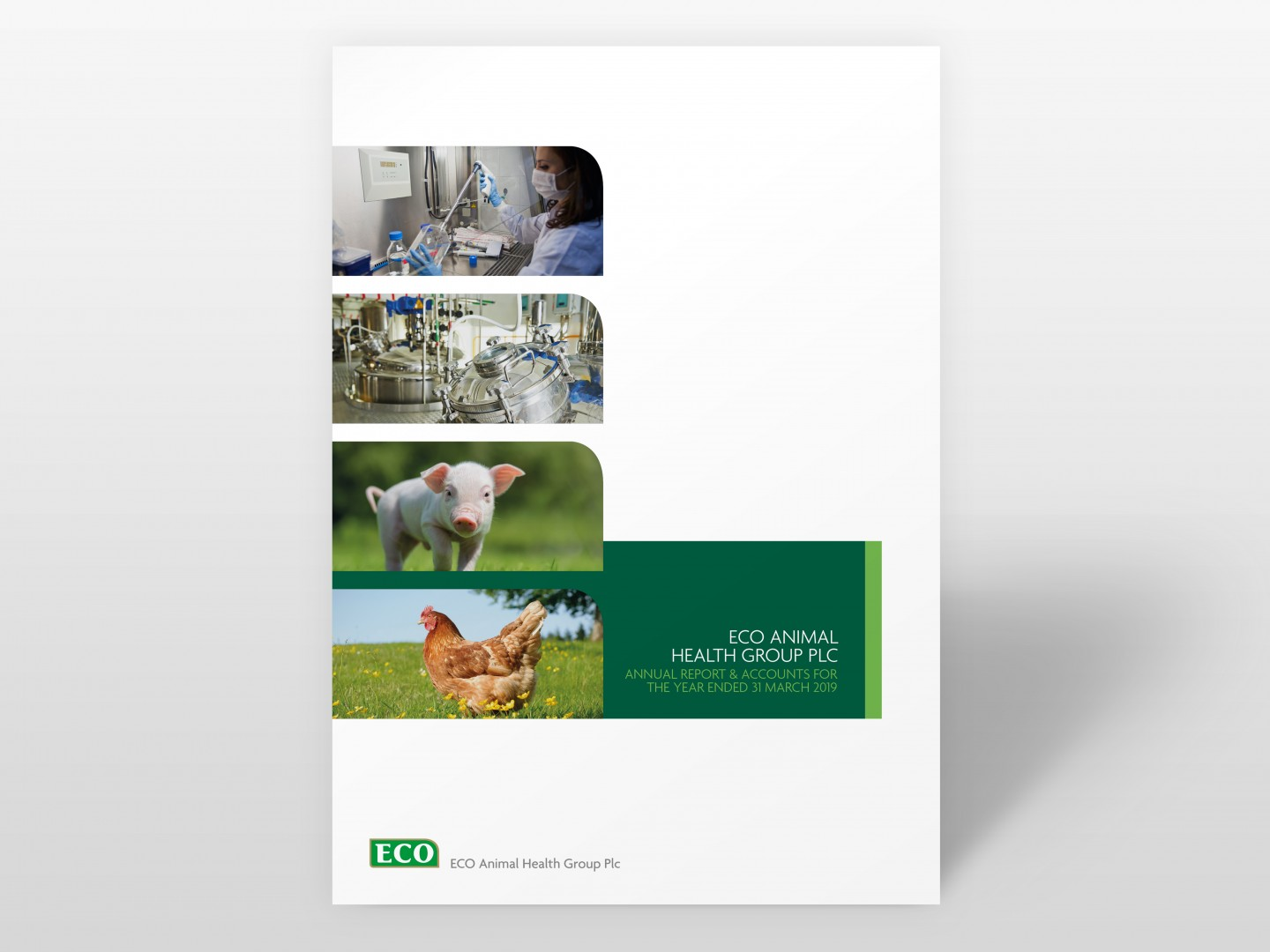 ECO Animal Health Group 2019 Annual Report Cover