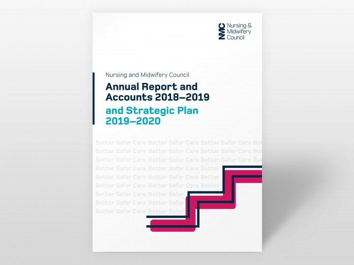 Nursing and Midwifery Council Annual Report 2019 Cover