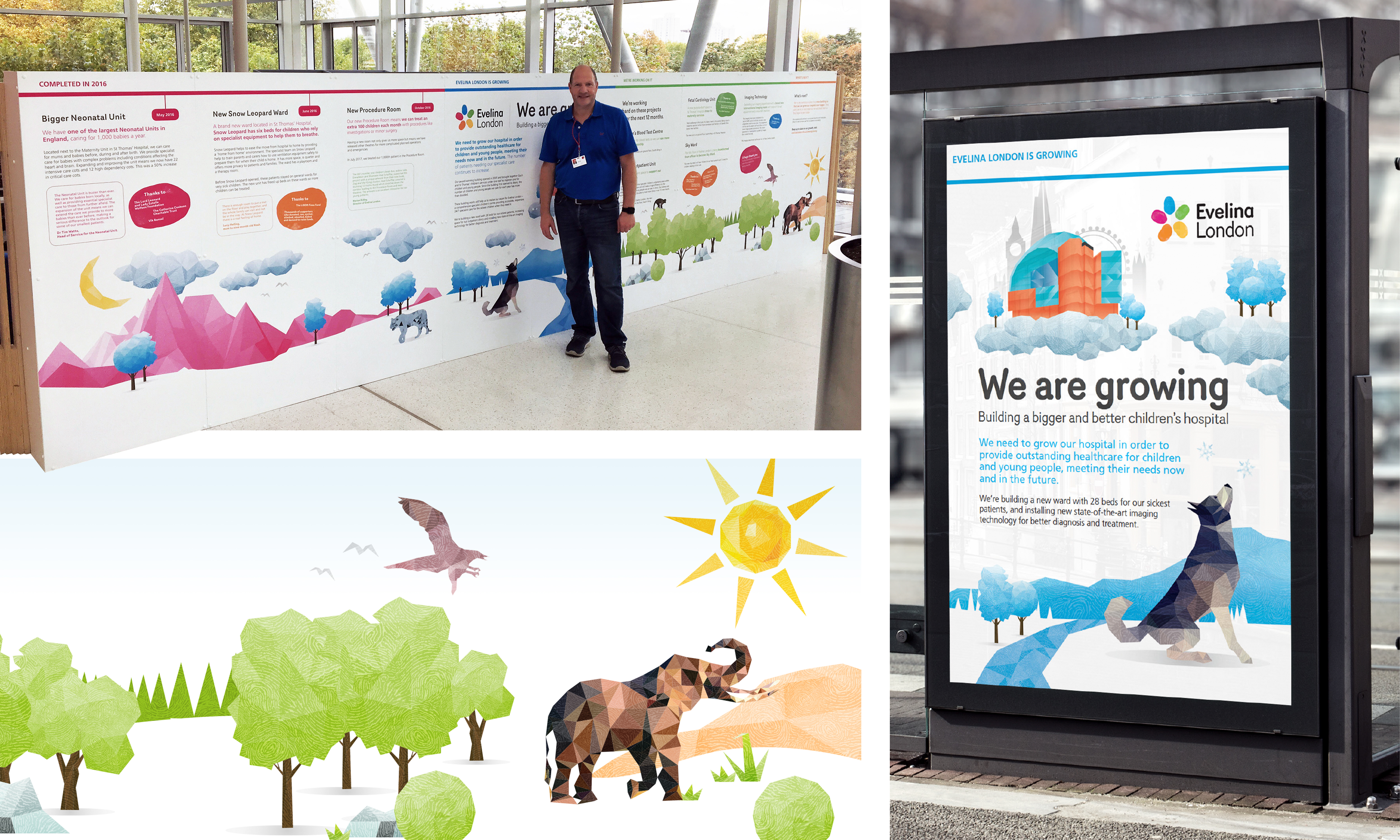 Evelina Children's Hospital - We are Growing Campaign