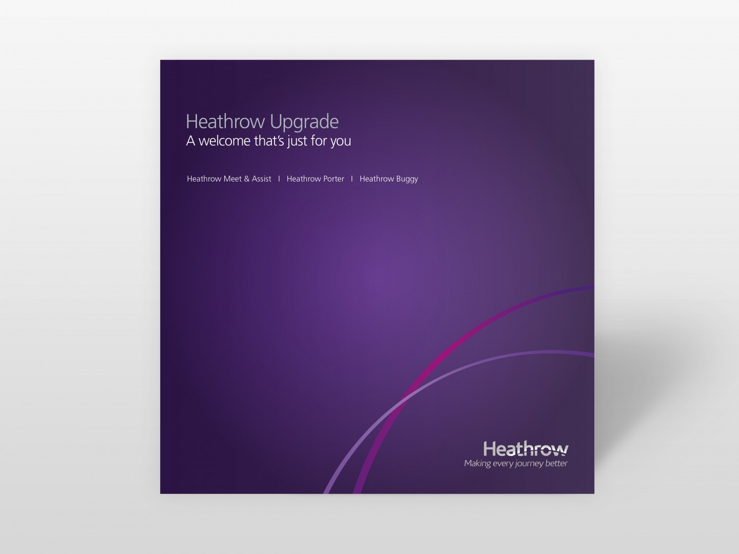 Heathrow Brochure Design Cover