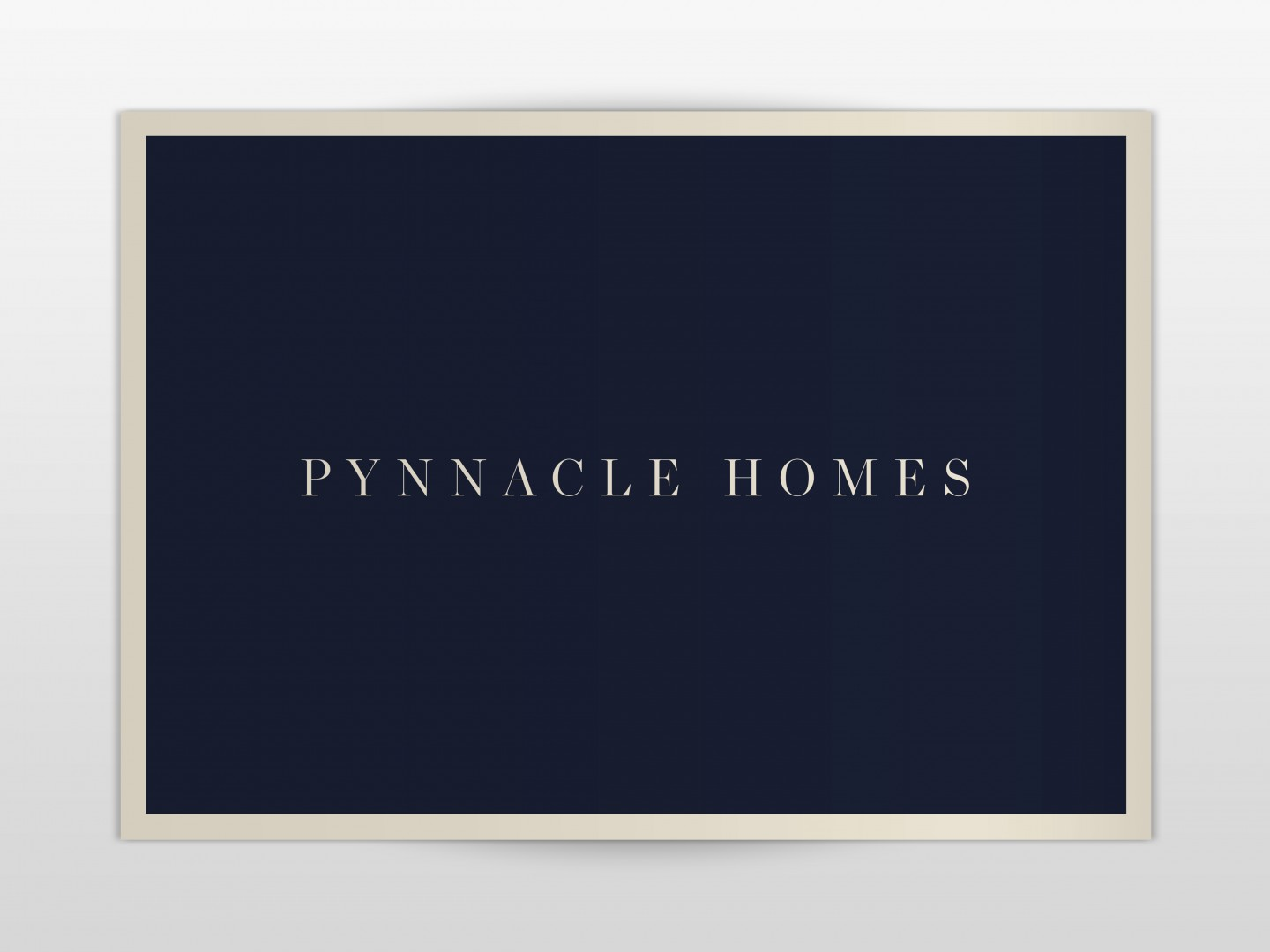 Syon Homes Brochure Design Cover