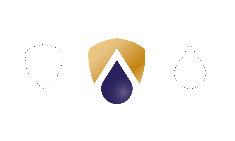 Logo design concept for Arcadia Desiccant
