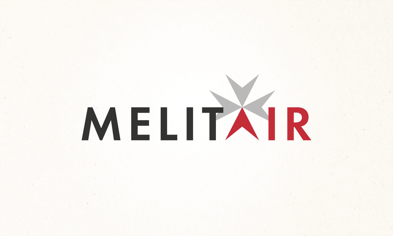 Melitair logo design for Britten Norman