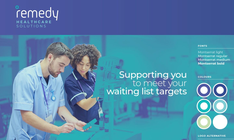 Remedy Healthcare Brand Design